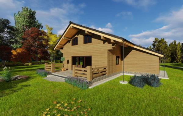 Montovaný dom – Zlatá Ida