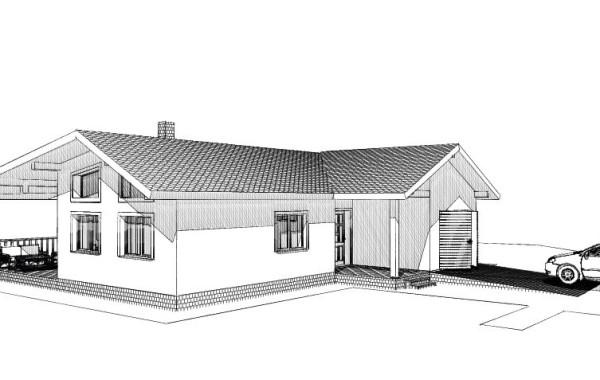 Montovaný dom Teplička nad Váhom